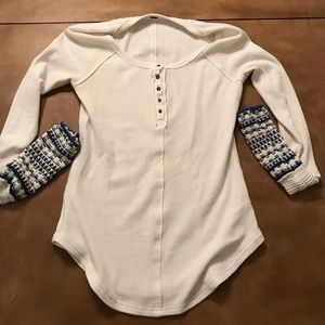 Free People thermal size Small